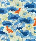 Waverly Upholstery Fabric 56\u0022-Lake House Porcelain
