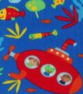 Anti-Pill Fleece Fabric 59\u0022-Under The Sea Animals