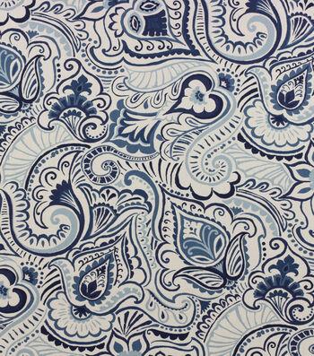 Home Essentials™ Print Fabric 45''-Navy Edina