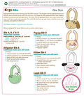 Kwik Sew Pattern K0131 Infants\u0027 Bib