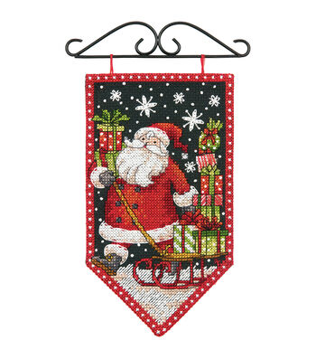 Dimensions Winter Banner Counted Cross Stitch Kit