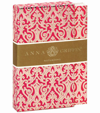 Anna Griffin Pink Notebook Set