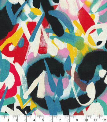 Waverly® Spotlight Upholstery Fabric 54''-Zinnia Spray Paint