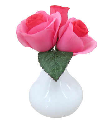 Mom Rose Arrangement-Dark Pink
