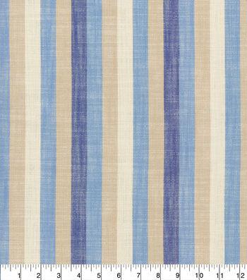 Ellen DeGeneres Upholstery Fabric 54''-Indigo Doheny Stripe