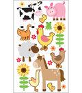 Sticko Sparkler Classic Stickers-Farm Animals