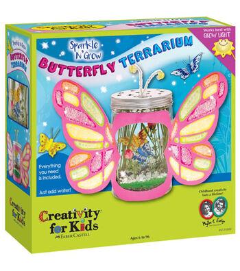 Creativity For Kids® Sparkle N' Grow Butterfly Terrarium