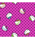 Licensed Mock Smock - Hello Kitty Neon Ruffle