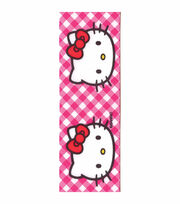 Hello Kitty® Pink Gingham Ribbon, , hi-res