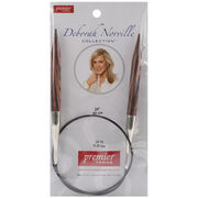 Deborah Norville Fixed Circular Needles 24'' Size 15/10.0mm, , hi-res