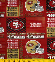 "San Francisco 49ers Cotton Fabric 58""-Patch, , hi-res"