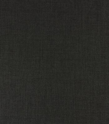 Solarium Outdoor Solid Fabric 54''-Black Rave