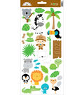 At The Zoo Cardstock Stickers 6\u0022X13\u0022-Icons #2
