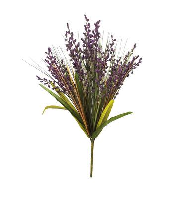 Blooming Autumn 22'' Berry Bush-Purple