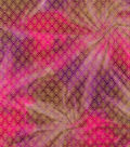 Legacy Studio™ Batik Fabric 44\u0027\u0027-Metallic Diamond on Pink & Purple