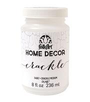 FolkArt Home Decor Crackle Medium 8oz, , hi-res