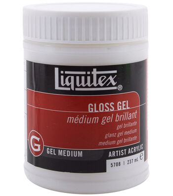 Liquitex Gloss Gel Medium-8oz