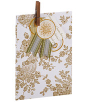 Anna Griffin Gold Tonal Treat Bag 4 Count, , hi-res