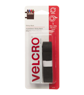 VELCRO Brand Sticky-Back Tape 0.75''x18''