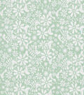 Keepsake Calico™ Cotton Fabric-Birds and Flowers Green