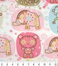 Micro Fleece Fabric 59\u0022-Fun Zoo