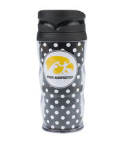 University of Iowa Hawks Polka Dot Travel Mug, , hi-res