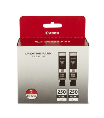 Canon PIXMA PGI-250 Pigment Black XL Twin Ink Pack