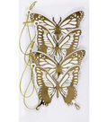 Jolee\u0027s Boutique® 4 Pack 4\u0027\u0027x7\u0027\u0027 Die-Cut Tags-Butterfly Silhouette