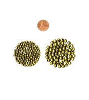 Blue Moon Beads Metal Beads 4mm, 6mm, Round, Oxidized Brass, , hi-res