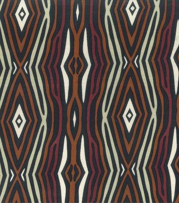 "Novelty Cotton Fabric 45""-Multi Tree Bark"