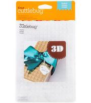 Cuttlebug Emboss 5x7 3D Gingham, , hi-res