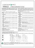 Mccall Pattern V8922 4-6-8-10-1-Vogue Pattern