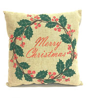 Maker's Holiday Pillow-Merry Christmas, , hi-res