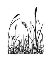 "Embossing Folder 4.25""X5.75""-Grass Silhouette, , hi-res"