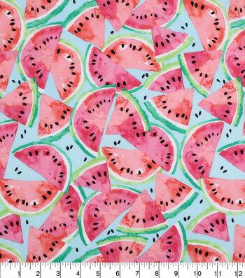 "Novelty Cotton Fabric 43""-Watermelon"