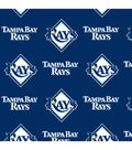 Tampa Bay Rays Fleece Fabric 58\u0022-Logo