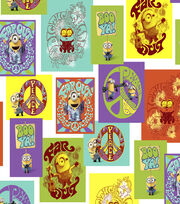"Minion Cotton Fabric 44""-Patch, , hi-res"