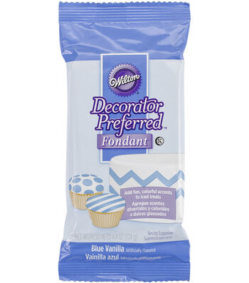 Decorator Preferred Fondant 4.4oz-Blue