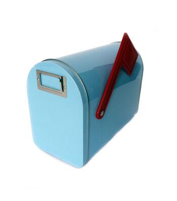 Mailbox Med-Pastel Blue