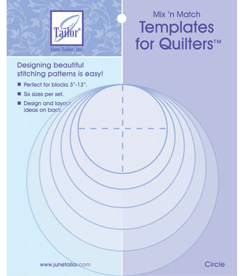 June Tailor Mix'n Match Templates For Quilters