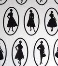 Snuggle Flannel Fabric 42\u0022-Ladies