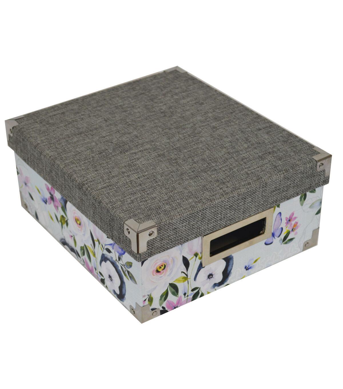 Organizing Essentialsu0026#8482; Small Storage Box Parisian Garden