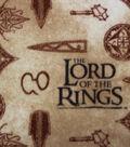 Lord of the Rings Fleece Fabric 58\u0022-Symbols