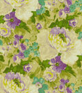 Waverly Print Fabric-Blossom Boutique/Orchid