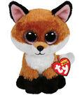 Ty Beanie Boos Slick The Brown Fox Medium Plush