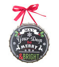Maker\u0027s Holiday Metal Wall Decor-Merry & Bright