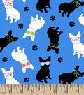 Snuggle Flannel Fabric 42\u0027\u0027-Boxer Bulldogs