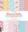 Dovecraft Blooming Lovely 36 sheets 12\u0027\u0027x12\u0027\u0027 Paper Pad