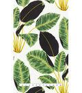 Genevieve Gorder Multi-Purpose Decor Fabric 54\u0027\u0027-Hojas Cubanas Rainforest
