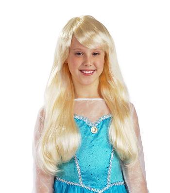 Maker's Halloween Child Long Wig-Blonde